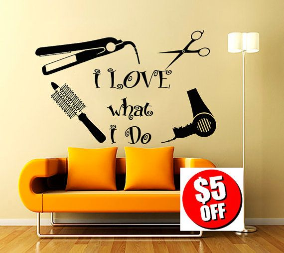 Wall Decal Beauty Salon Hair Spa Fashion Styling Is My Life - Window stickers for businessunisex hair scissors vinyl window sticker decal salon