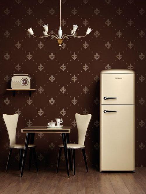 la marca Gorenge, está reproduciendo los electrodomésticos de la época