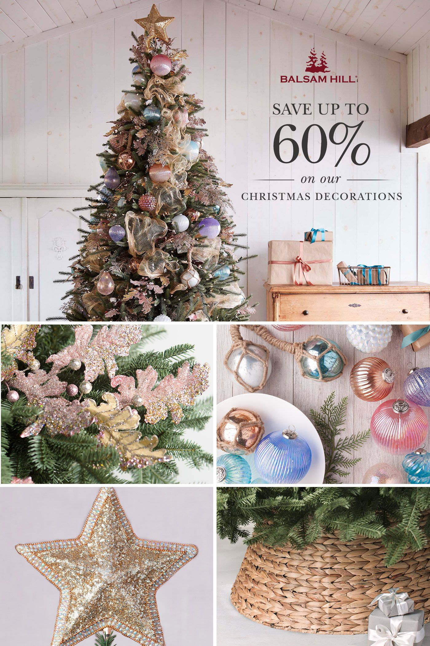 Artificial Christmas Trees Ornaments Home Decor Balsam Hill