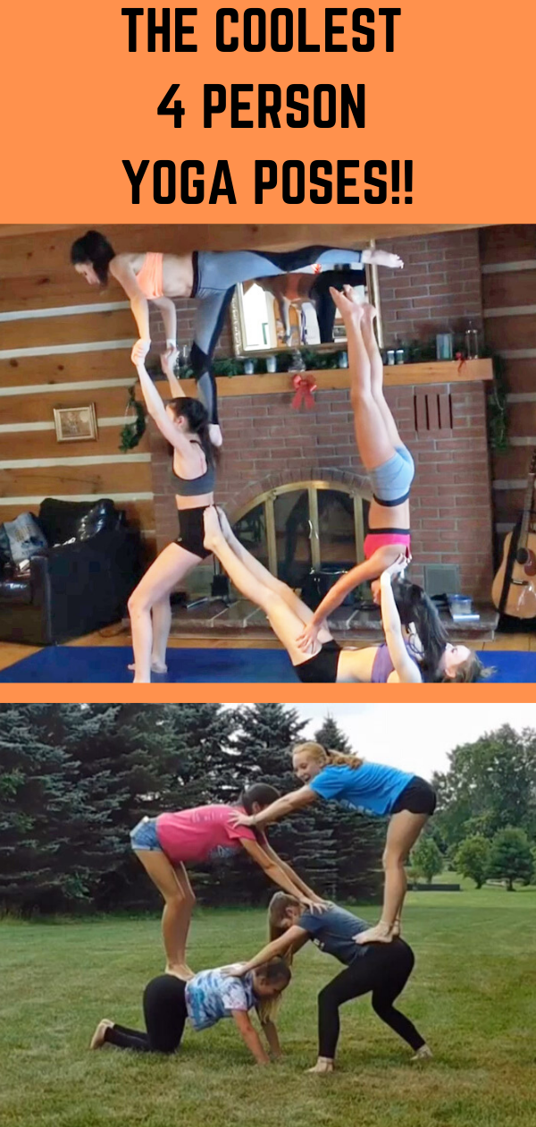 10+ Yoga poses for four people ideas in 2021