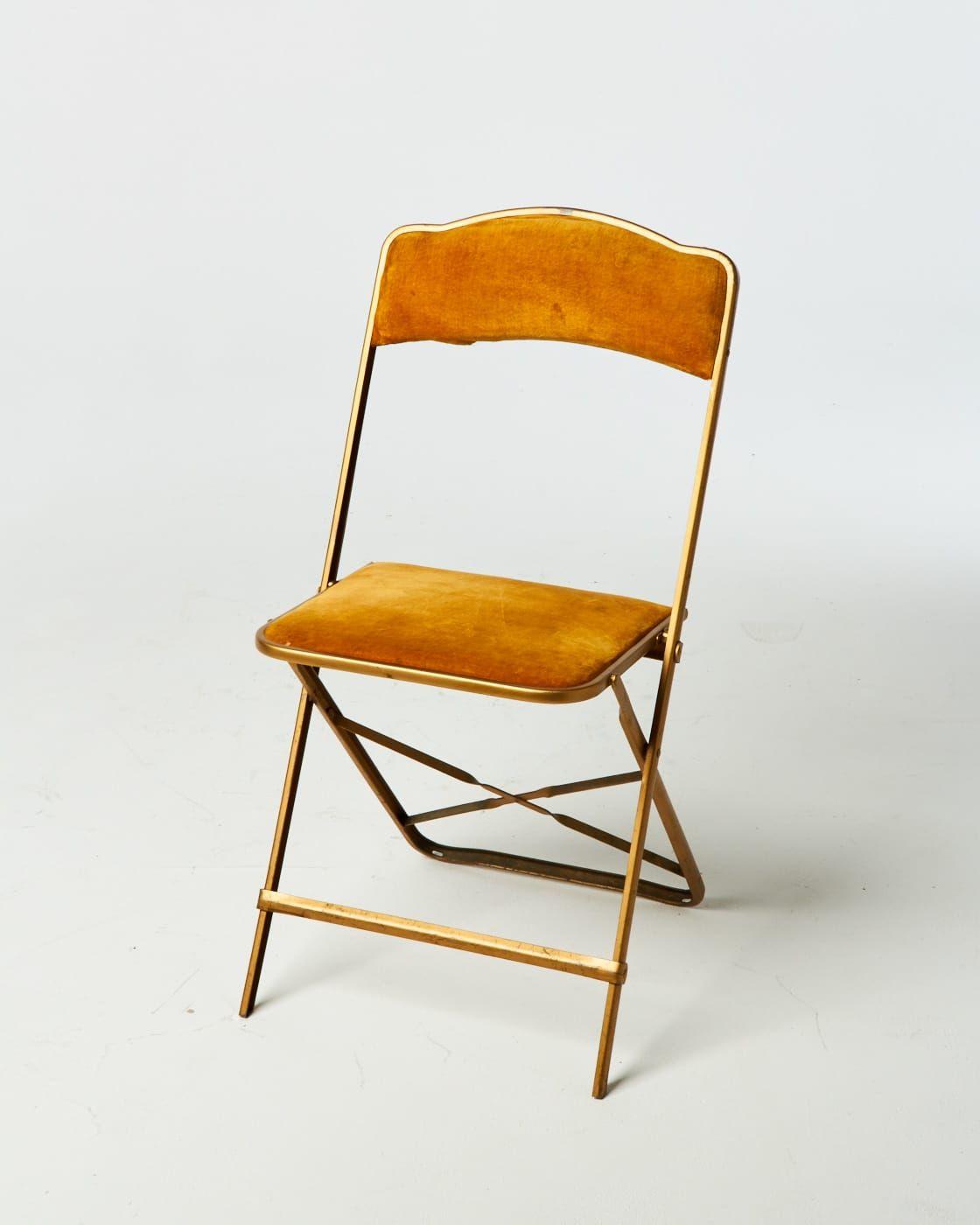 Peachy Ch111 Velvet Folding Metal Chair Prop Rental Acme Brooklyn Ncnpc Chair Design For Home Ncnpcorg