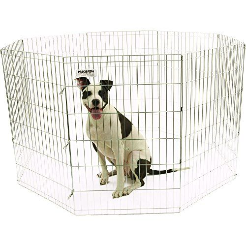 Precision Pet Silver Expen With Snaps Boxed Check Out The Image By Visiting The Link This Is An Affiliate Link Dog Playpen Dog Pen Puppy Pads Training