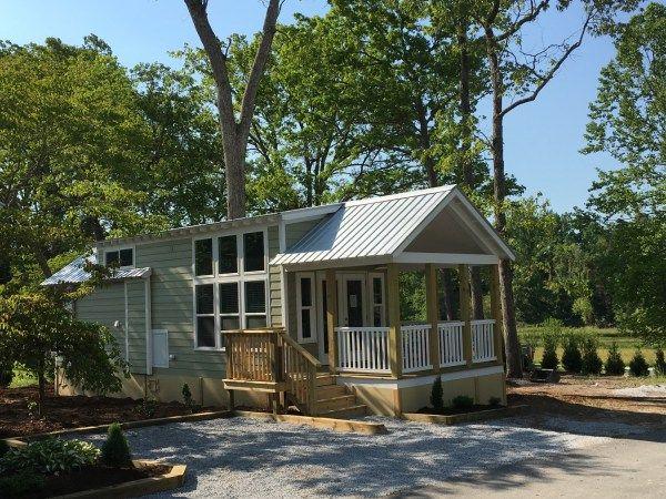 Tiny House Community Open House Near Asheville North