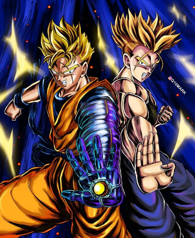 Future Gohan And Future Trunks By Q10mark On Deviantart Anime Dragon Ball Super Dragon Ball Super Manga Dragon Ball Image