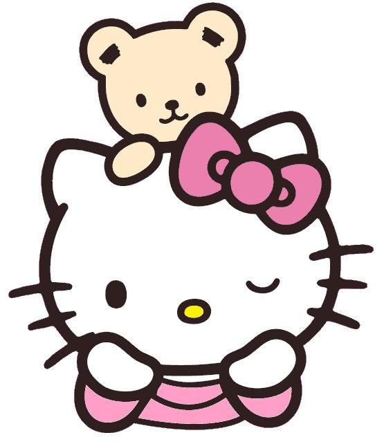 Hello Kitty bear Hello kitty, Imagens fofinhas, Desenhos