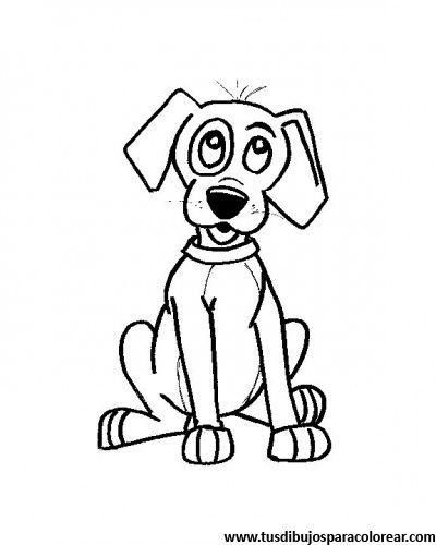 Worksheet. dibujos para colorear de perros  Dibujos de animales para