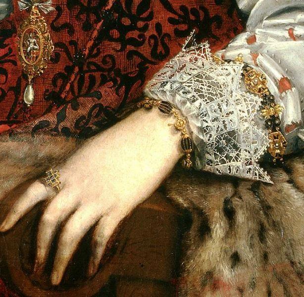Lavinia Fontana c. 1584 Gozzadini Family (detail)