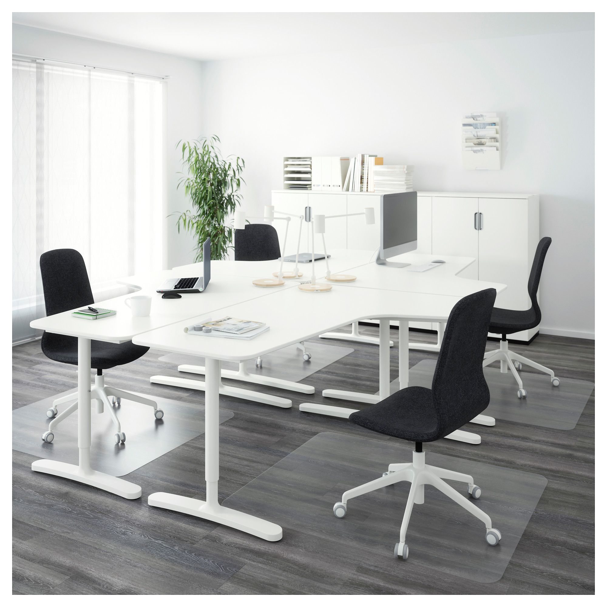 Bekant Desk Combination White Ikea Home Office Design Ikea Bekant Ikea Bekant Desk