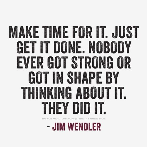 Make Time For It Quotes Quote Strong Fitness Workout Motivation Shape Exercise Motivate