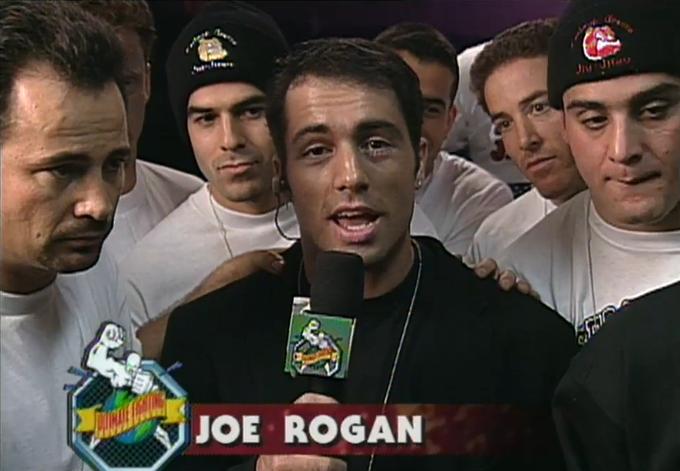 Image result for joe rogan ufc debut