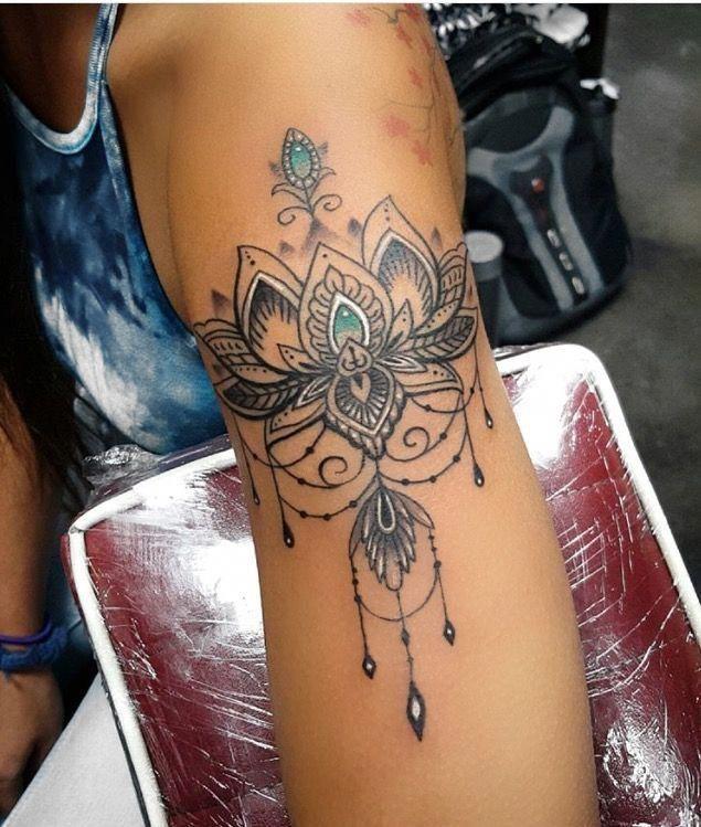 Innamorato del mio nuovo braccio! Per gentile concessione di Tam @ Daygo Ink !! #tatuaggio #lotus #mandala #ink #Mandalatattoo – Schone Pinnes