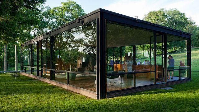 new canaan - glass house 5 | Flickr: Intercambio de fotos