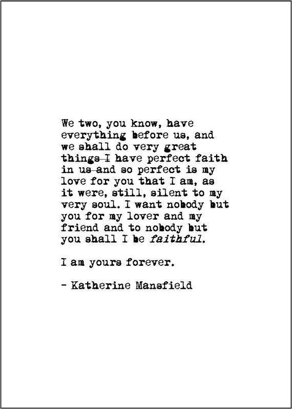 love letter typewriter print valentine's by