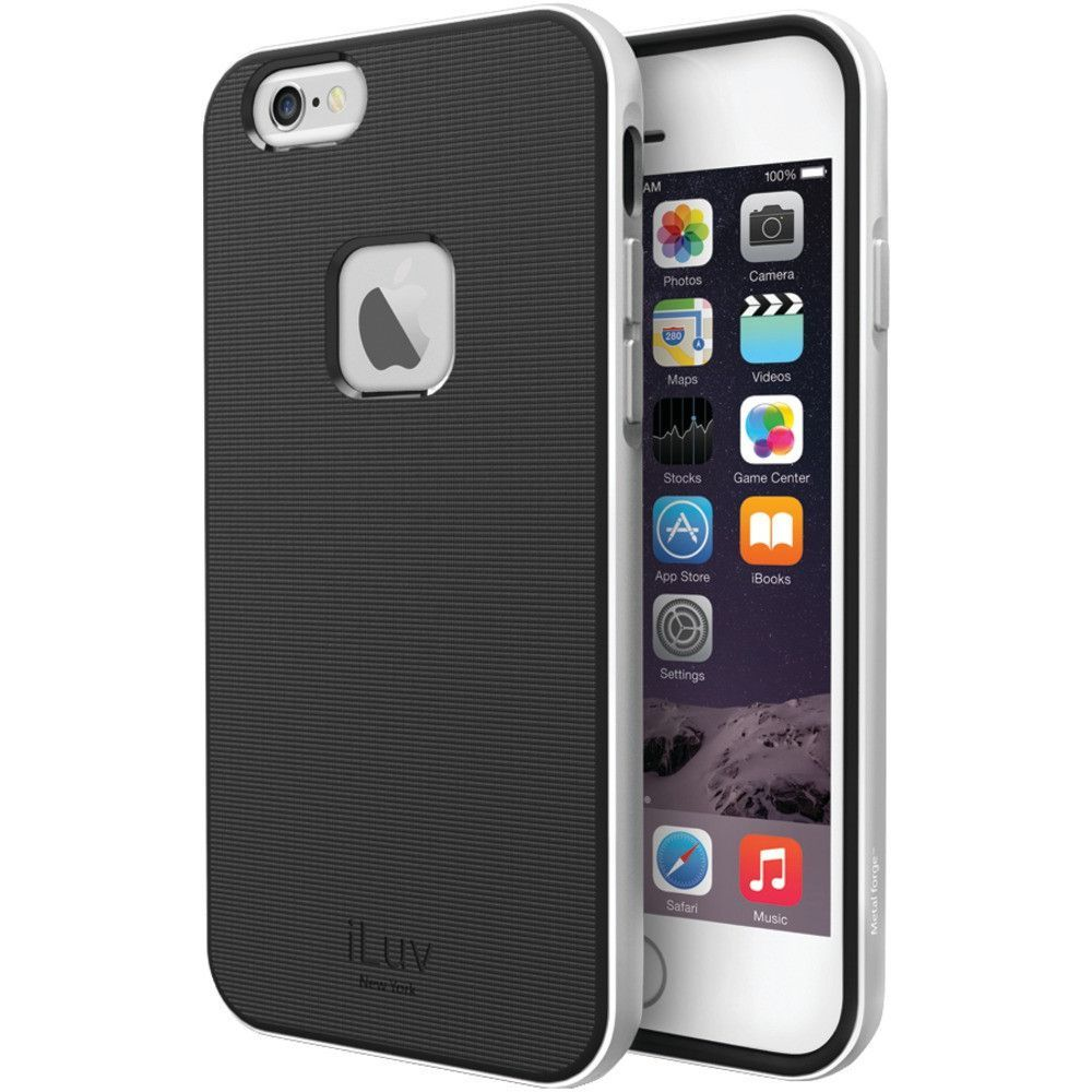 Iluv Iphone 6 Plus And 6s Plus Metal Forge Case (silver)