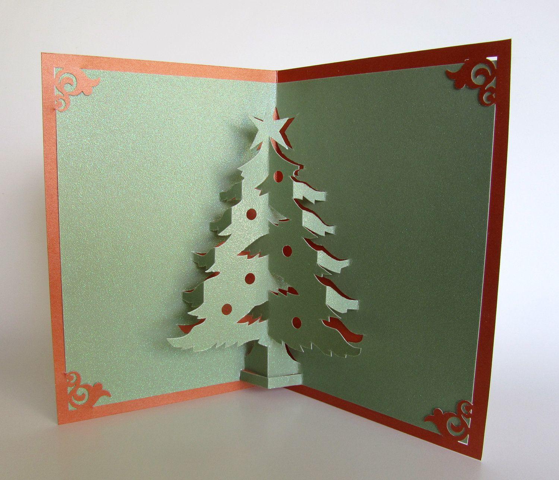Днем рождения, объемные открытки рождество