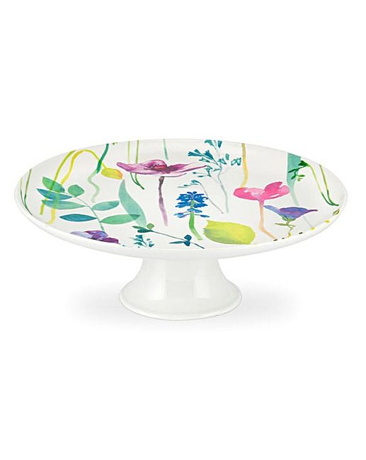 Portmeirion Water Garden Cake Stand | J D Williams | TLC - For Her | Pinterest | Garden cakes and Water  sc 1 st  Pinterest & Portmeirion Water Garden Cake Stand | J D Williams | TLC - For Her ...