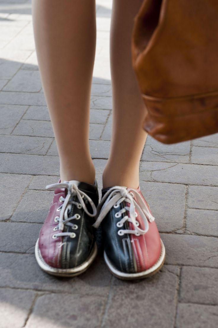 80s bowling shoes fashion photo