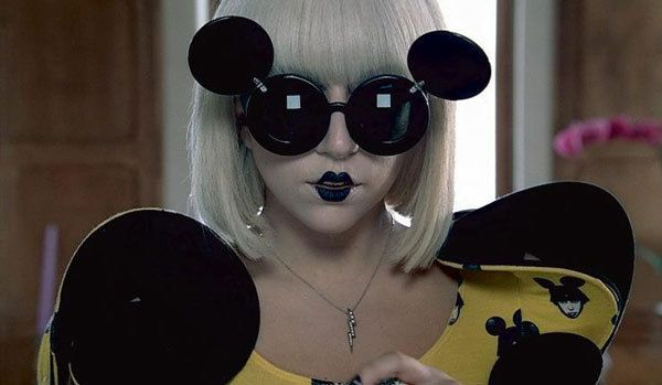 a9d03ac741 Iconic  Eyewear Lady Gaga s Mickey Mouse Shades