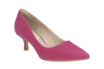 Womens Smart Shoes - Aquifer Soda in Fuchsia from Clarks shoes