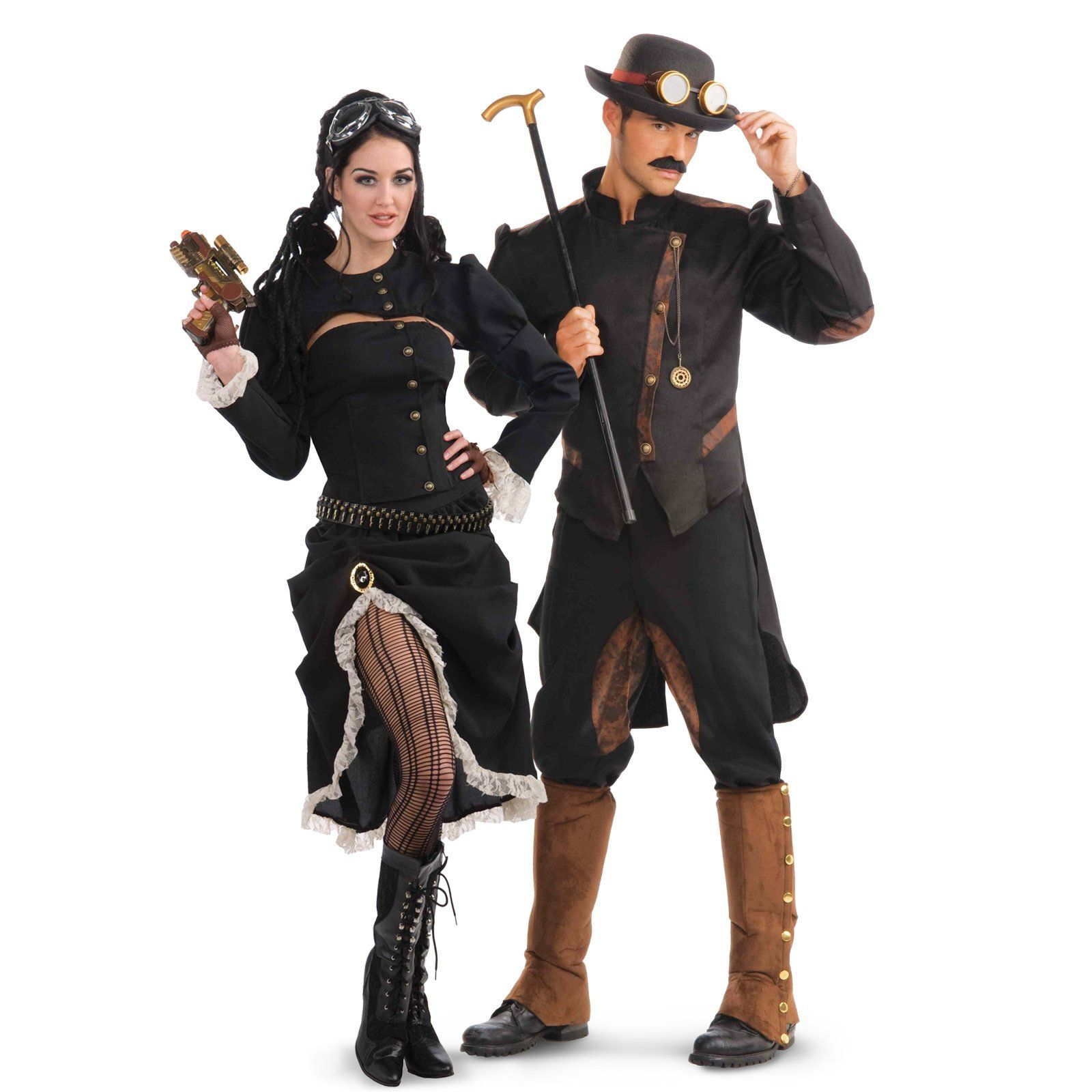 Steampunk Couples Costumes And Dress