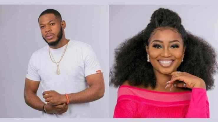 Bbnaija Frodd Risks Disqualification For Touching Esther Big Brother Esther Big Brother Show