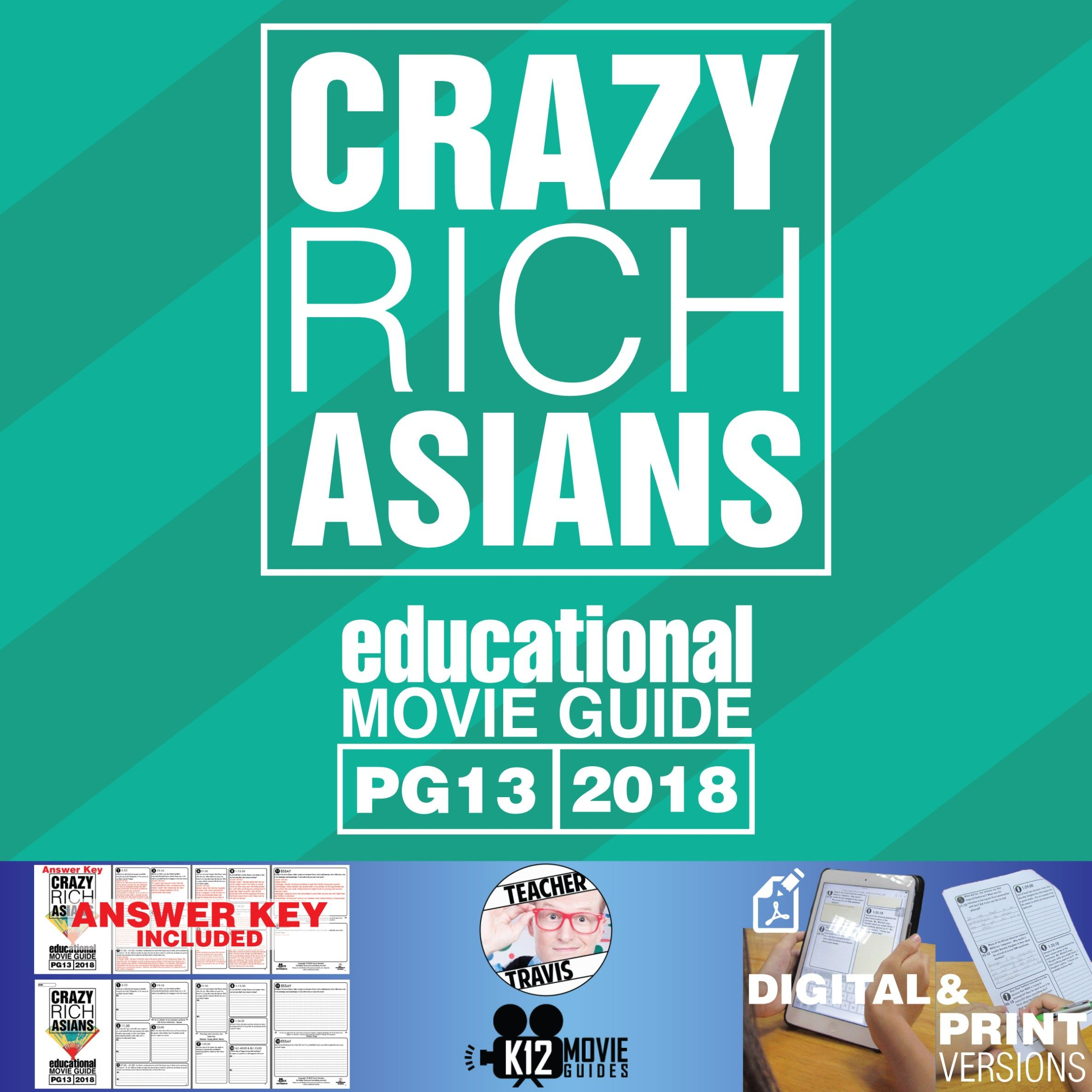 Crazy Rich Asians Movie Guide