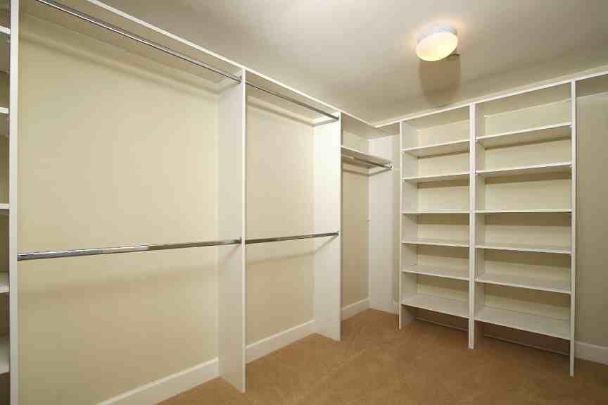 U0027Empty Closet For Storage/interior Design Presentationu0027 Wall Decal   X  Removable Graphic