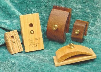 1 Pair Mini Ash Wood Hang-Ups Quilt Clamps Clips - Small Ash Hang ...