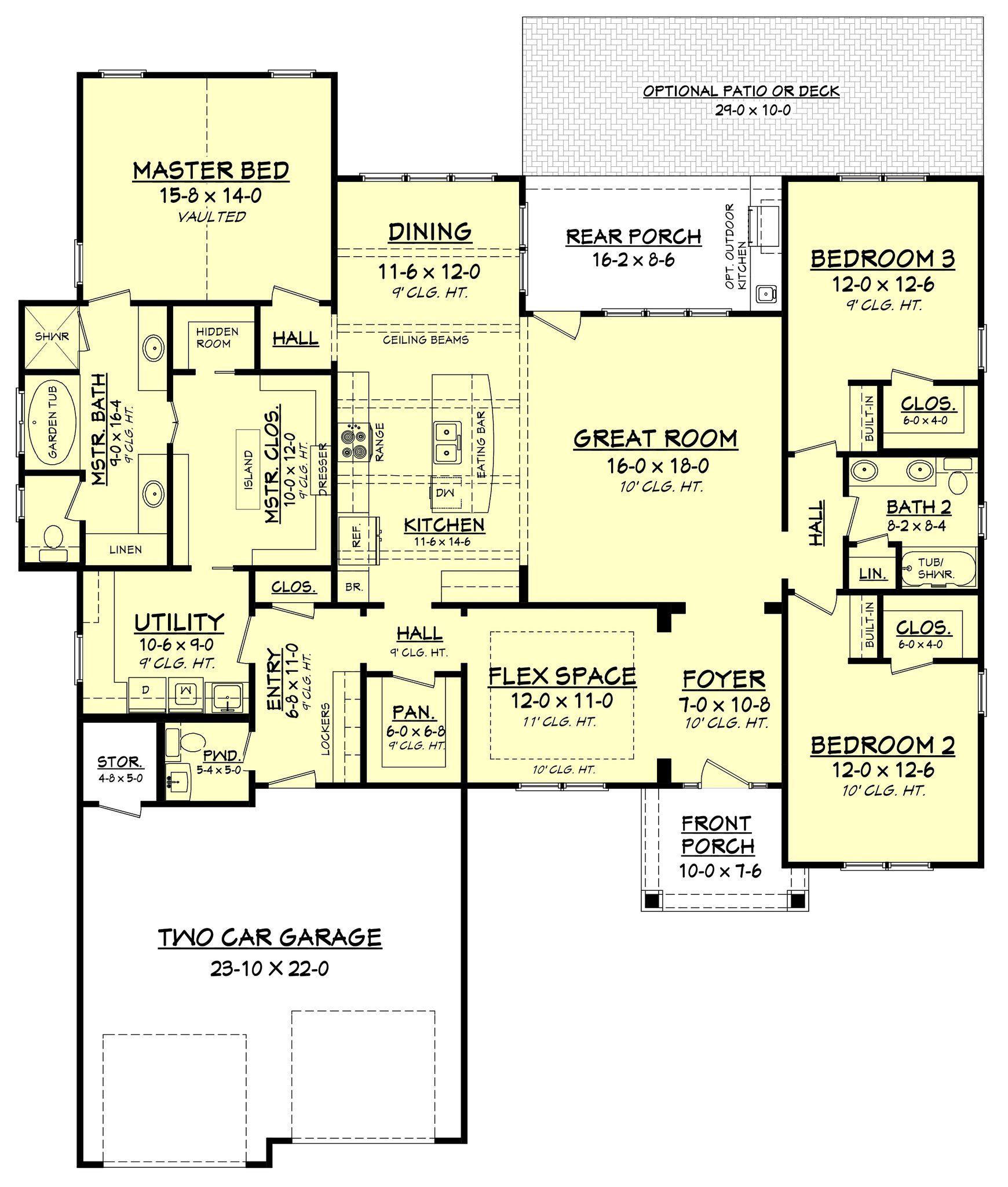 stunning house shop combo floor plans. Cottonwood House Plan  Glass shower enclosures Craftsman style
