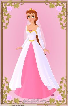 Princess Fiona Wedding Dress By Zozelini Deviantart On