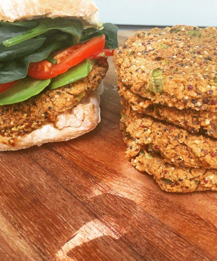 Vegan Quinoa and Bean Veggie Patties Veggie patties