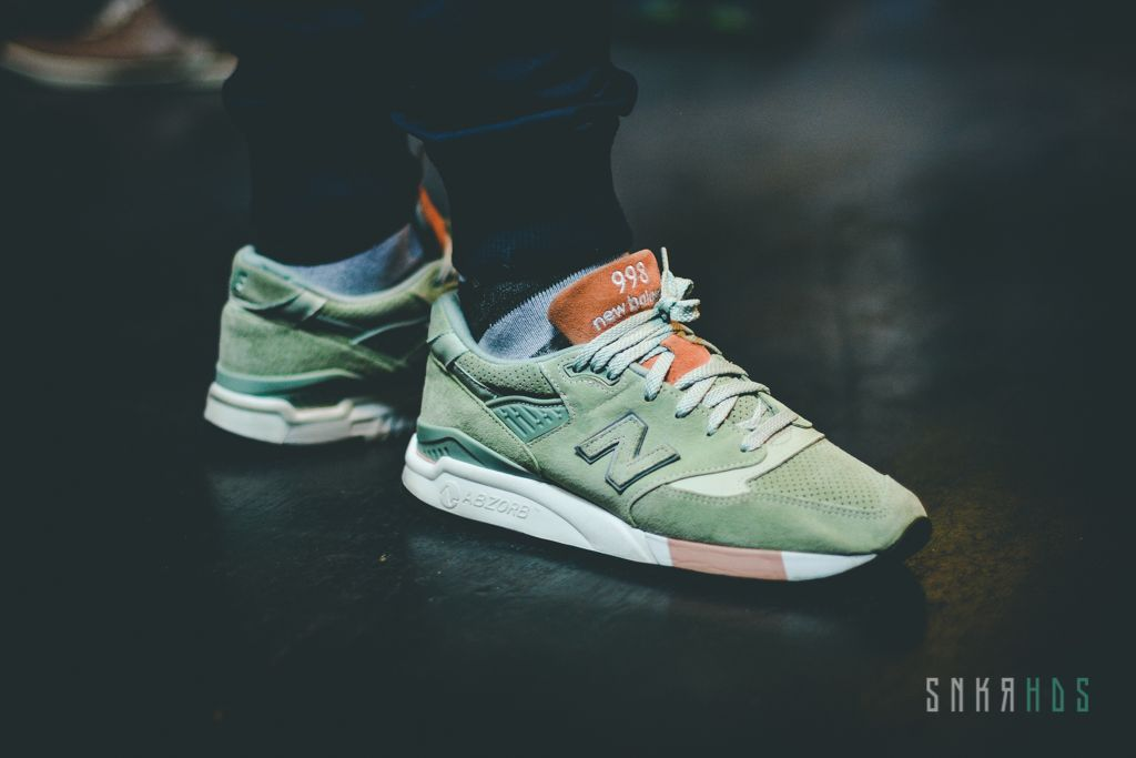 "uk availability 80304 f821f New Balance M998TNY x Concepts ""Tannery / Mint"" 