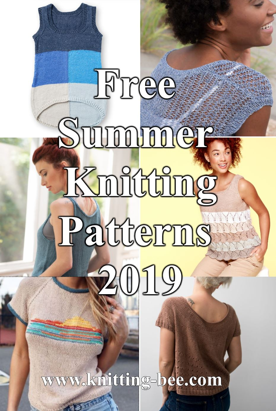 Free Summer Knitting Patterns 2019 - Summer Knitting