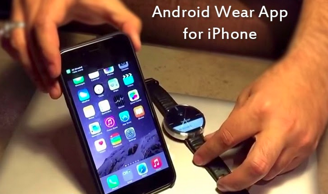 How Android Wear works with iOS Android wear, Android