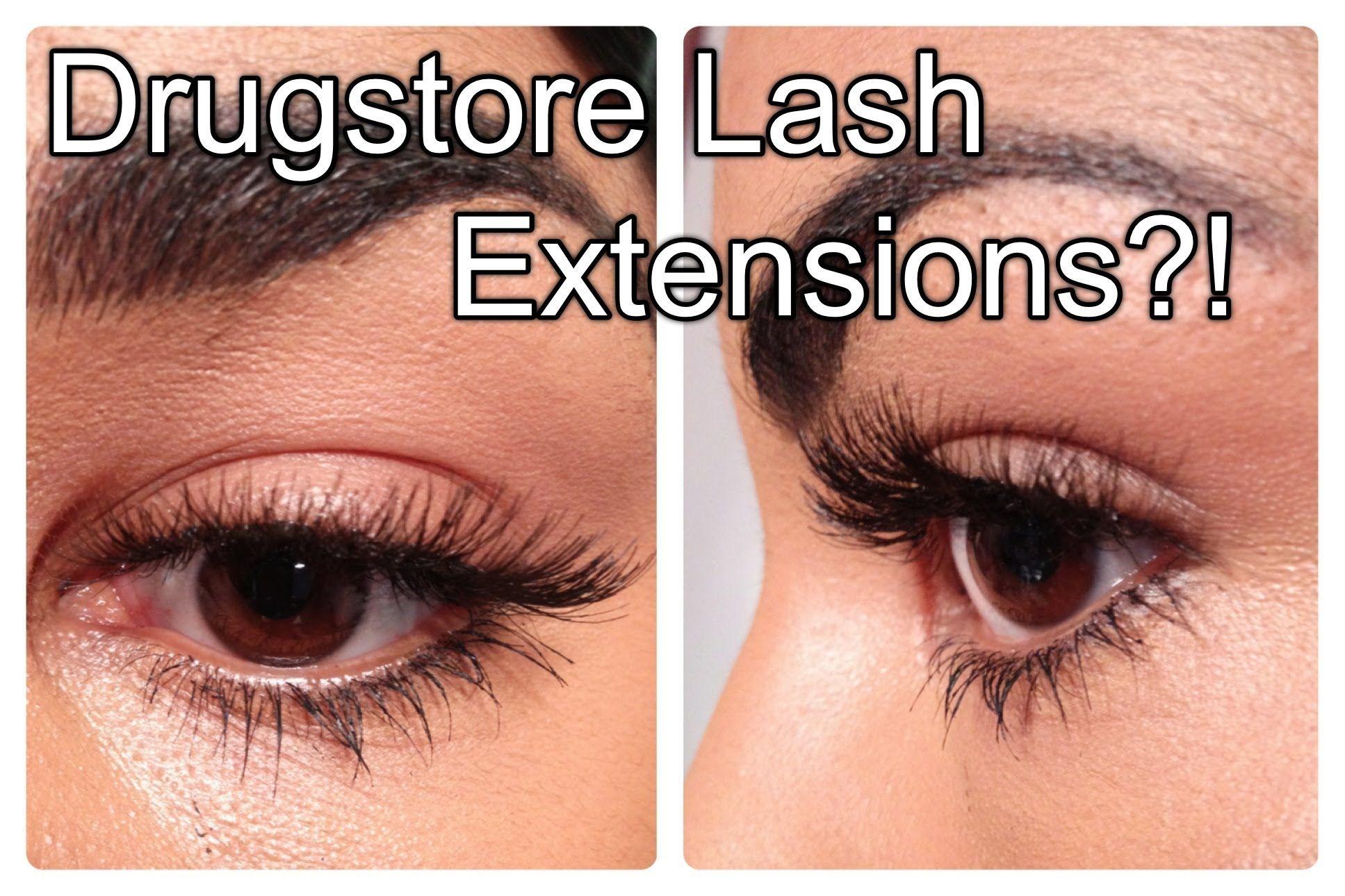 Drugstore lash extensions ardell starter kit review