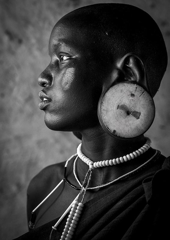 Mursi Tribe Beauty, Hail Wuha Village, Omo Valley, Ethiopia | Flickr - Photo Sharing!