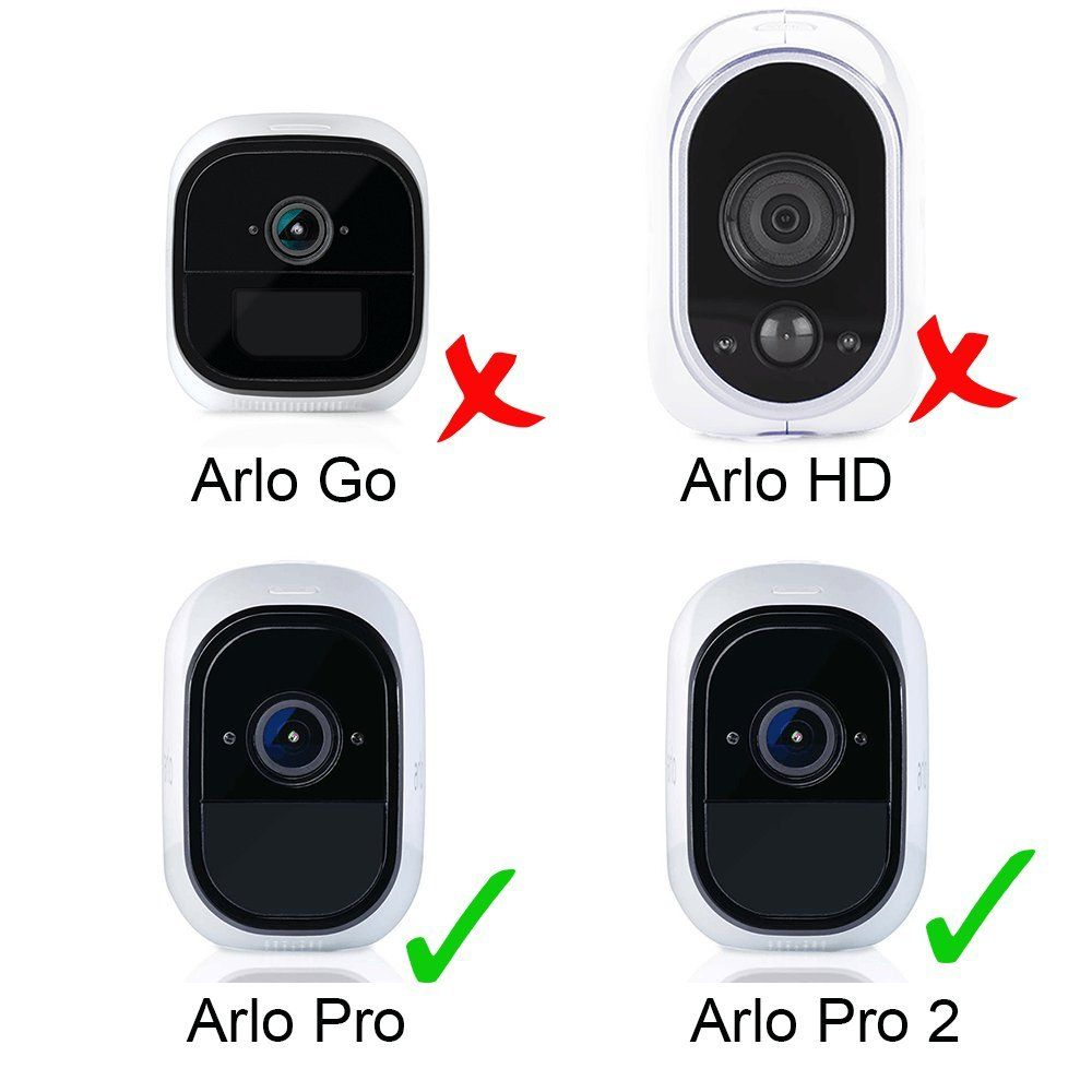 Silicone Lens Skin Camera Cover Protective Weatherproof For Arlo Pro Arlo Pro 2