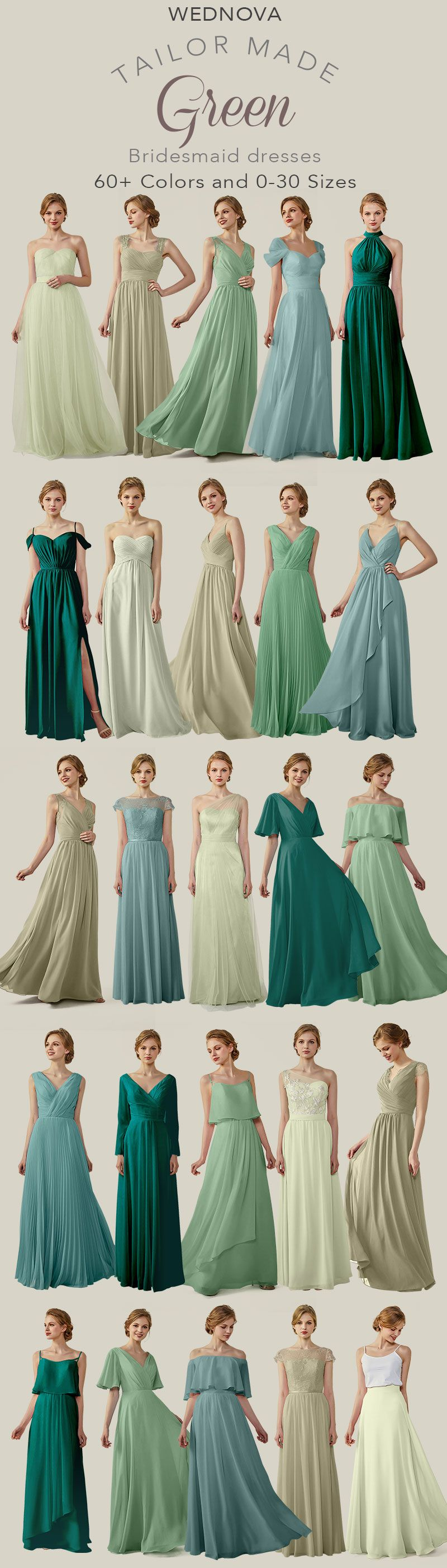 New styles chiffon bridesmaid dresses green sexy halter dress for
