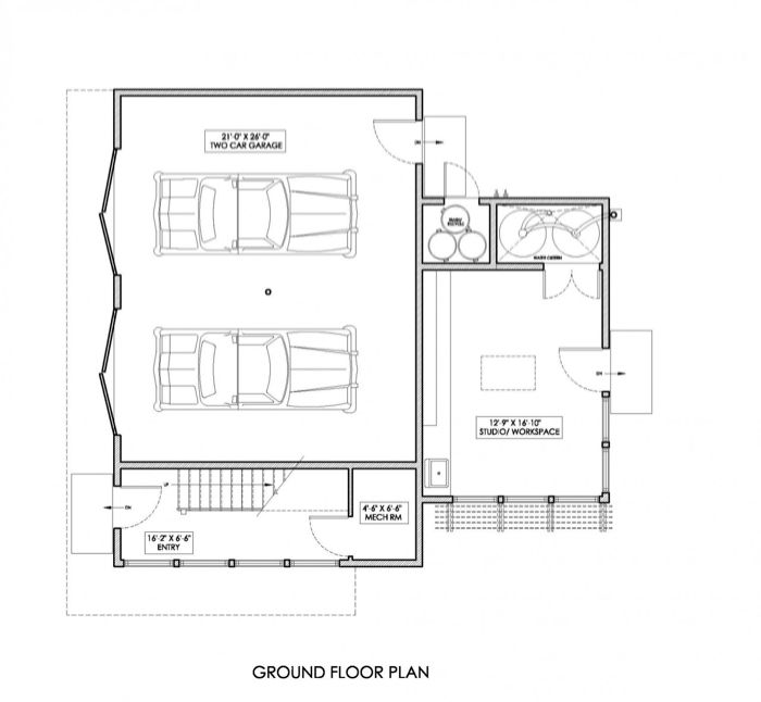 Websites For Apartments: Double Garage, Apartment & Studio Flexspace--this Is The