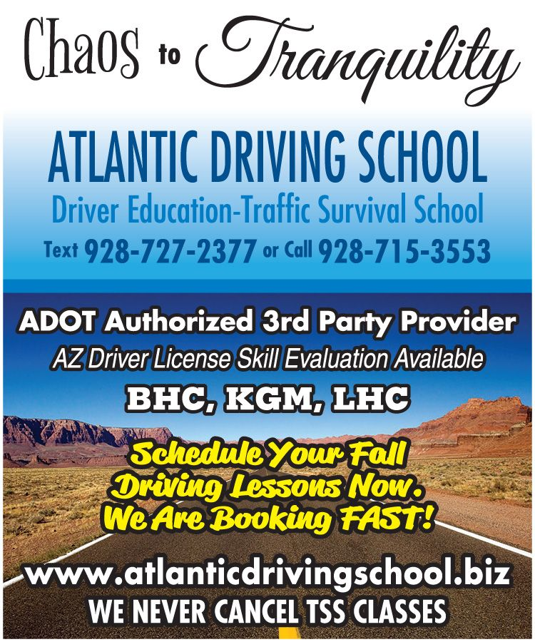 Prepare for your driver's test with AtlanticDrivingSchool