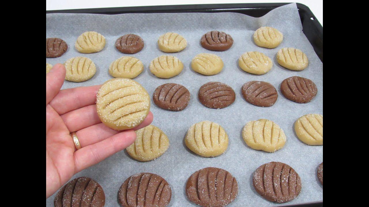 بسكوت العشر دقايق بمكونات موجودة في كل بيت Food Desserts Cookies