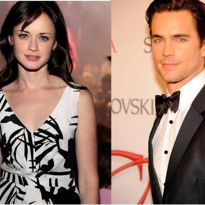 Matt Bomer And Alexis Bledel With Images Christian Gray Fifty