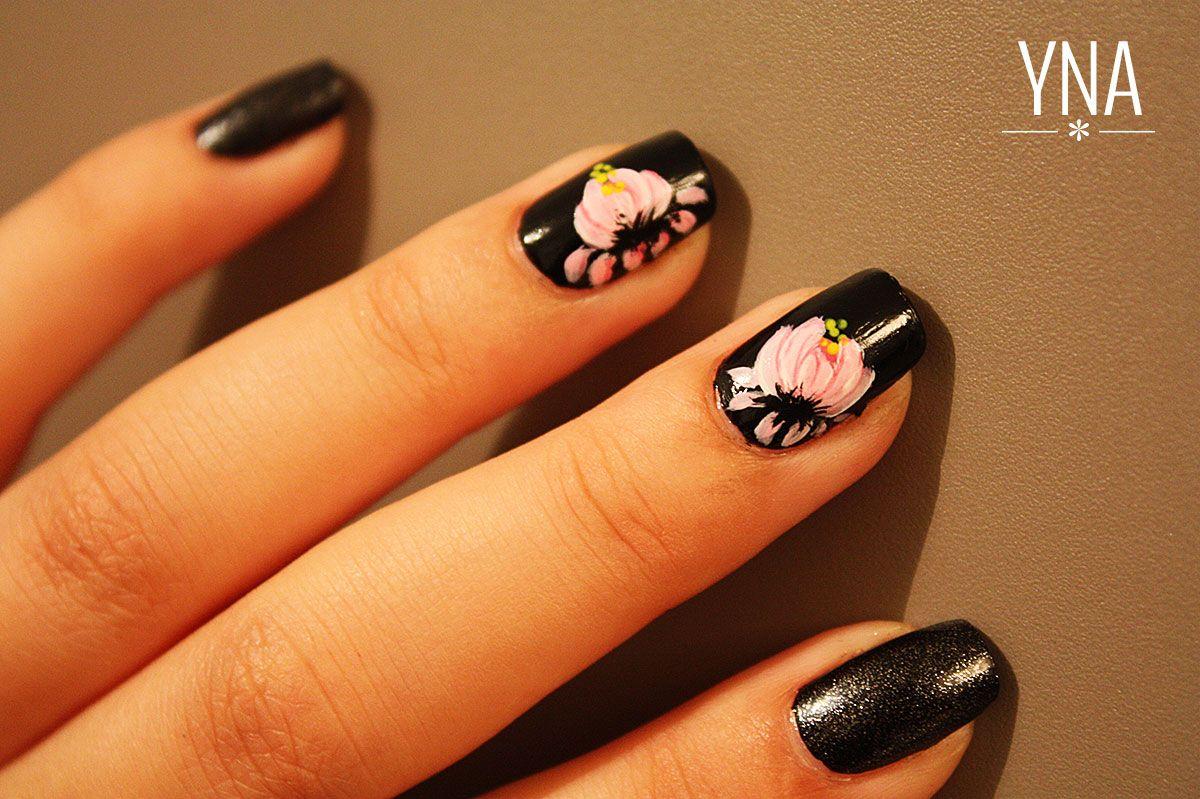 Fleur de lotus zhostovo http://yuni-nail-art.fr/lotus-zhostovo ...