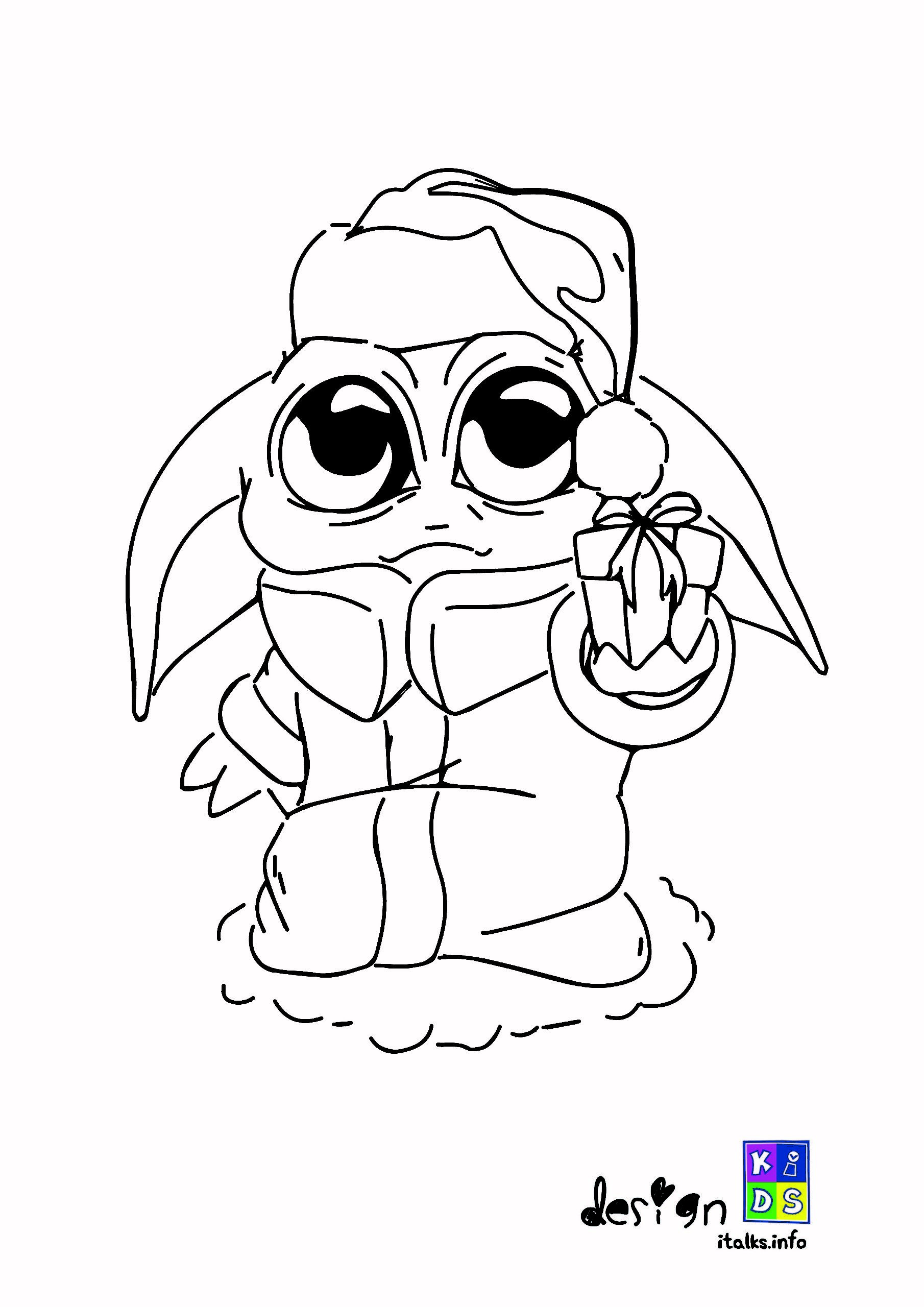 Baby Yoda Christmas Coloring Page Coloring Pages Christmas Coloring Pages Christmas Colors