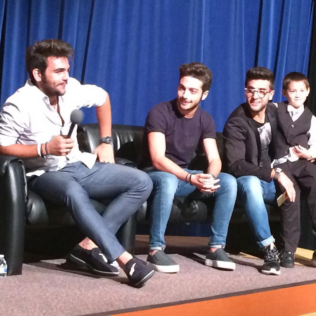 Ilvolomusic By Kaopweb Il Volo During Q A At Pba Meet Greet