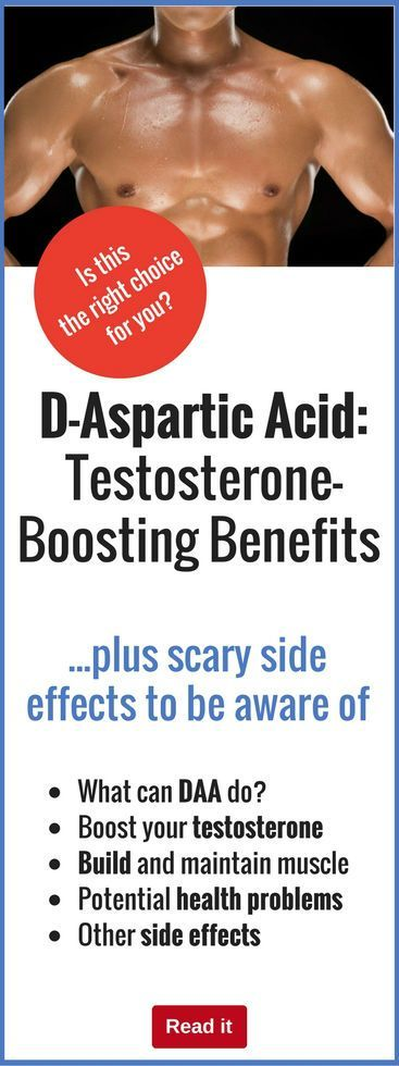 D-Aspartic Acid: Testosterone-Boosting Benefits Plus Scary