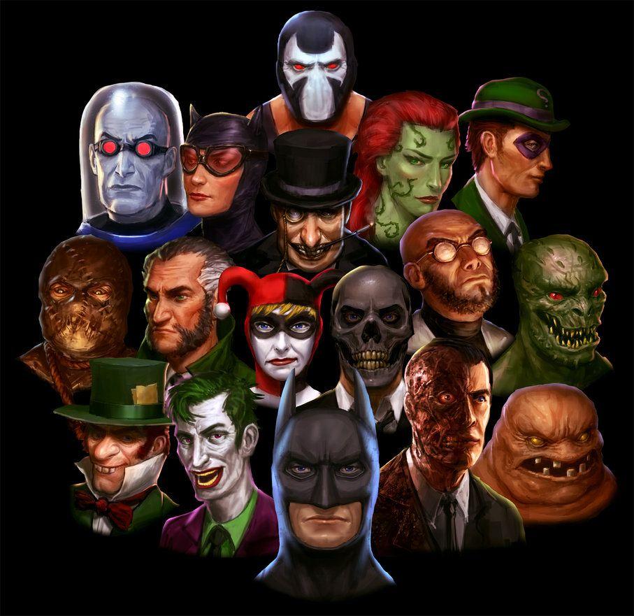 Batman Villains Joakimolofsson Deviantart