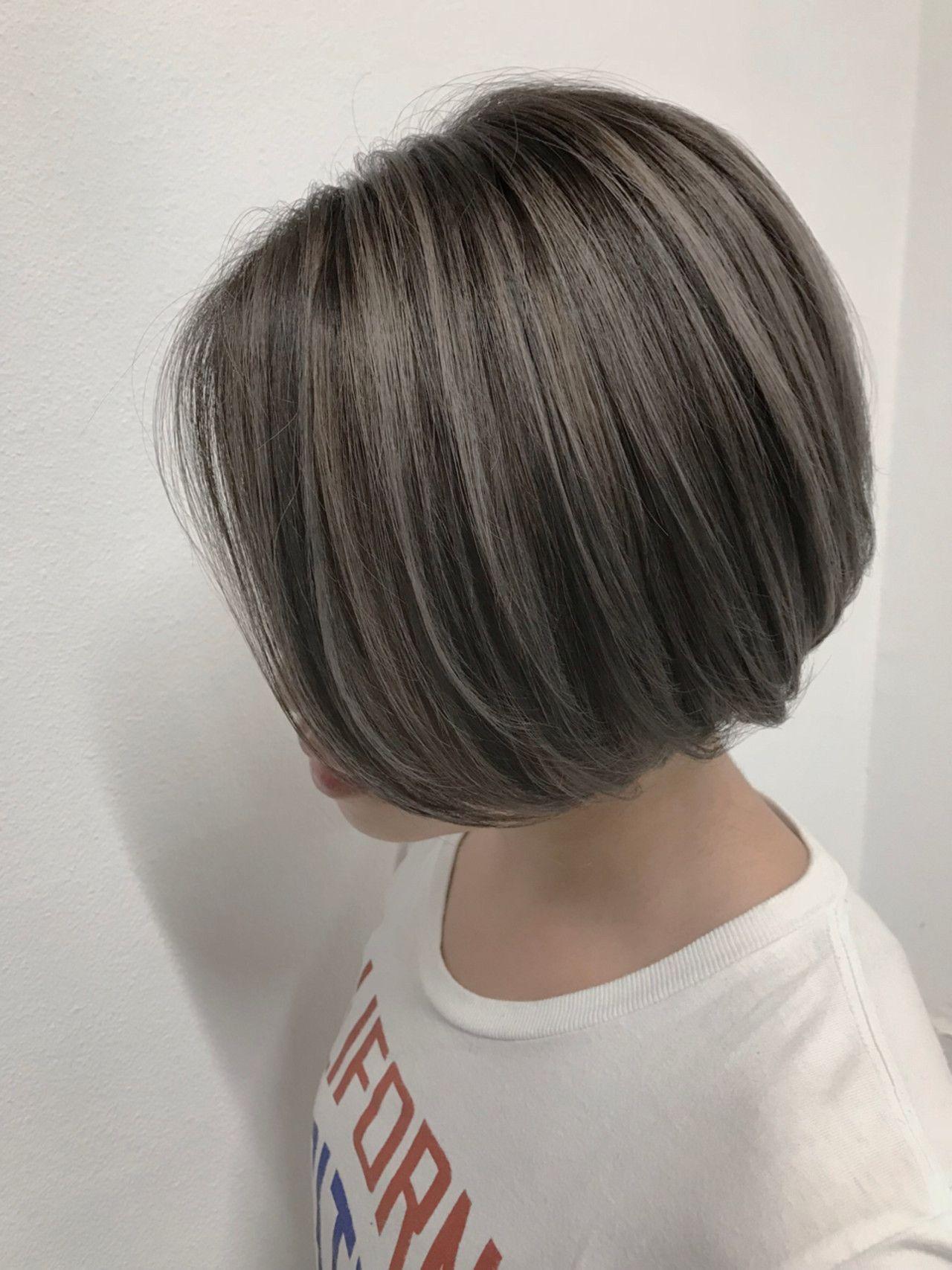 グレイヘア スタイル の新たな提案 白髪ヘア グレイヘア