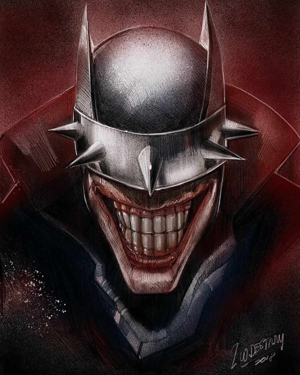 BATMAN WHO LAUGHS #6 JENNY FRISON VARIANT COVER JOKER COMIC BOOK SOLD OUT NEW 1