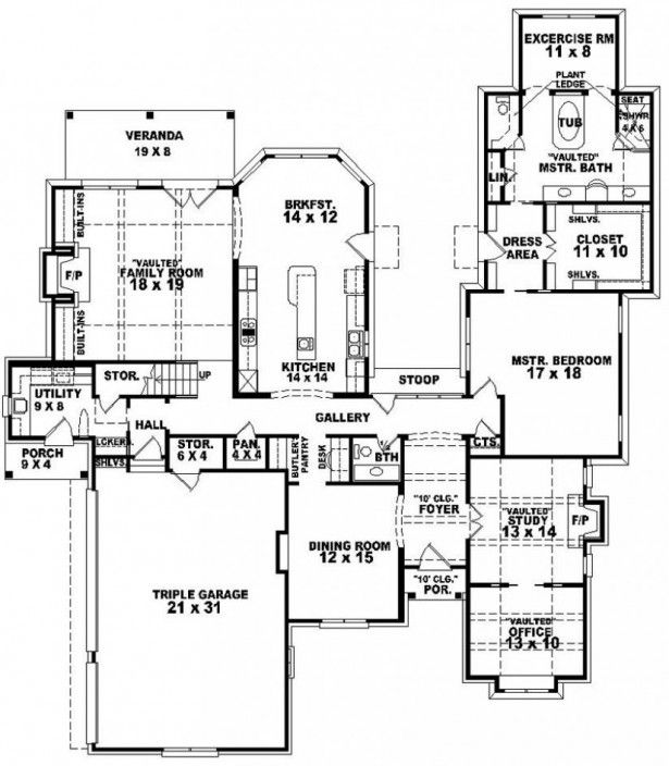 Bedroom Designs Two Bedroom House Plans For Small Land Bathrooms Dining Room Designs Bedroom House Plans Beach House Floor Plans House Plans Small house plan for large family
